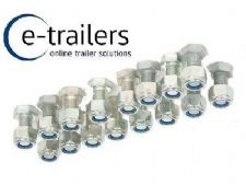Trailer Suspension Bolt Kit  (40mm) & nuts - 16 pack for 750kg to 1500kg UNITS